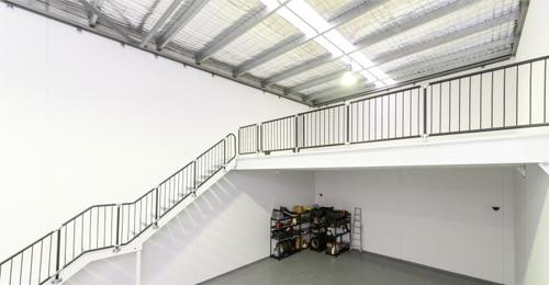 Walls Mezzanine