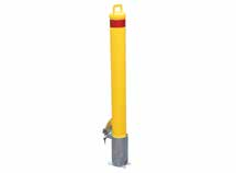 in-ground removeable bollard